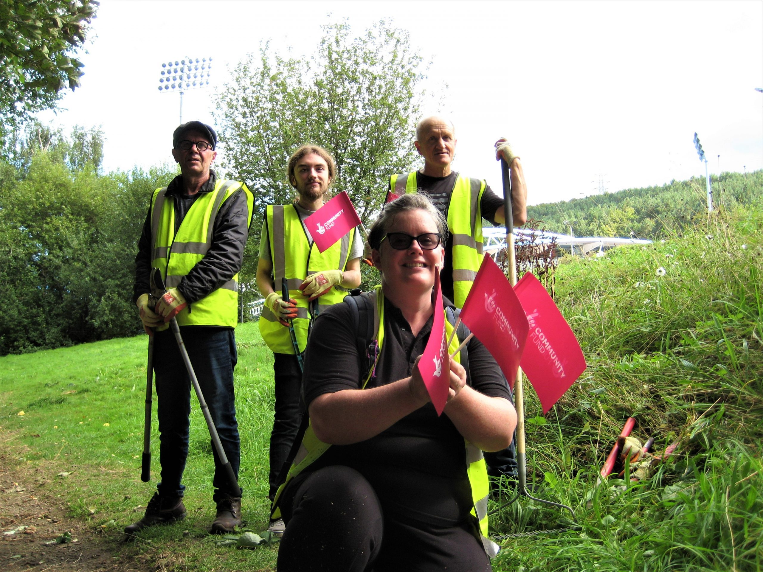 EPIKs Celebrate New Funding for Volunteering Through The National Lottery Communities Fund